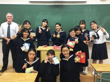 """クラブ活動-ESS同好会 """" Christmas Party """""""