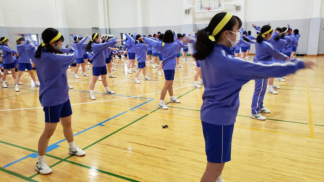 体育祭予行練習日(雨天バージョン)