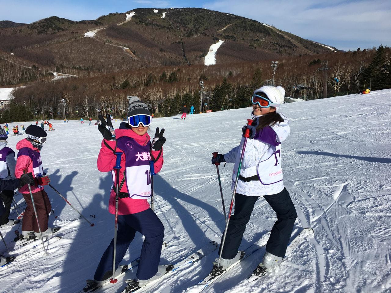 スキー教室(2日目)