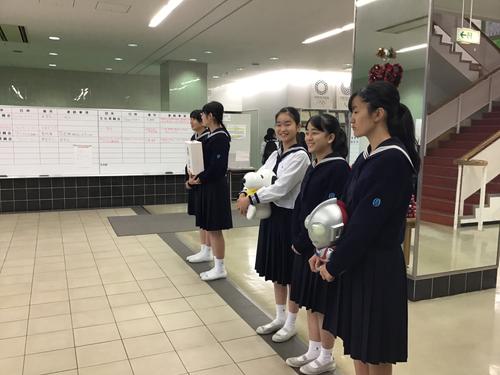 【生徒会】台風19号に関する募金活動