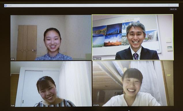 【朝日新聞取材】休校中のオンライン授業と、英語・国際教育プログラム