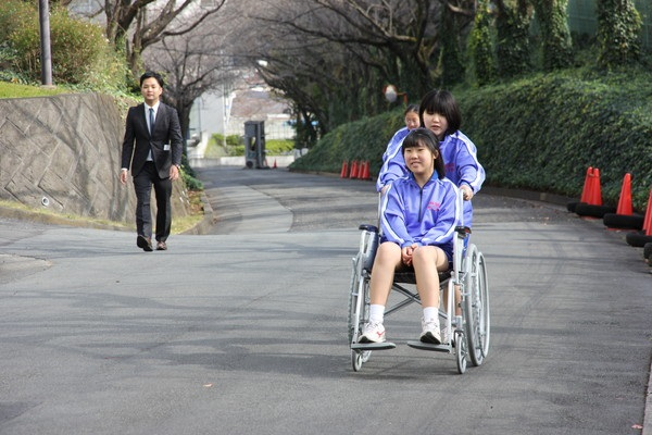 【中2】ハンディキャップ体験