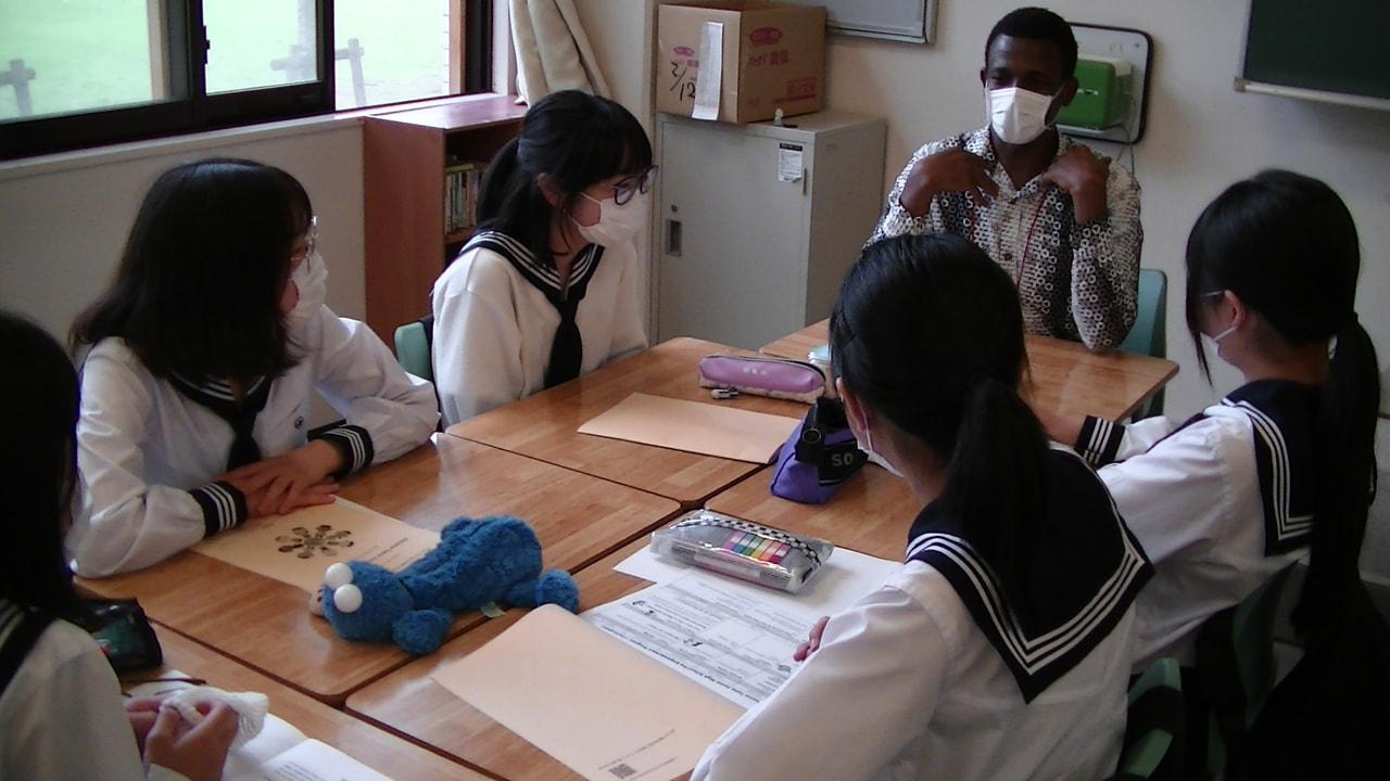 【国際教育】2021年度 プレ・エンパワメント・プログラム(中2)