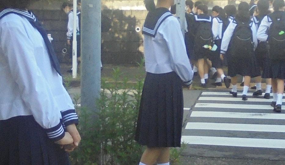 【生徒会】登校指導のお手伝いをしました